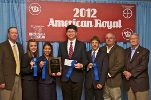2012 American Royal National Champion 4-H Meat Judging Team