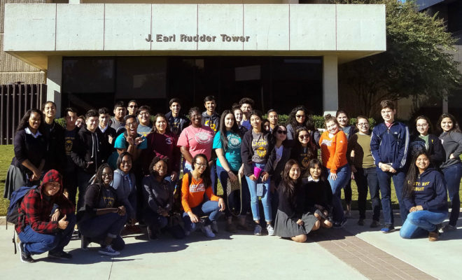 Harris County prep school students get firsthand look at Texas A&M